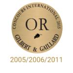 château sainte barbe ambes bordeaux - recompense medaille- gilbert & gaillard