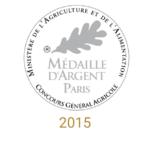 château sainte barbe ambes bordeaux - recompense medaille- médaille d'argent paris