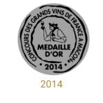 château sainte barbe ambes bordeaux - recompense medaille- concours des grands vins de france a macon 2014