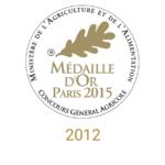 château sainte barbe ambes bordeaux - recompense medaille- médaille d'or paris 2015