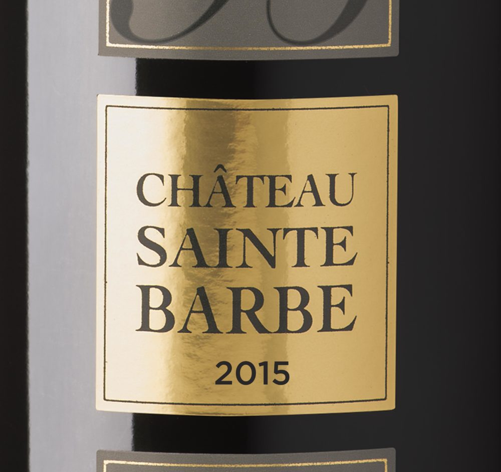 Château Sainte Barbe - Millésime 2015