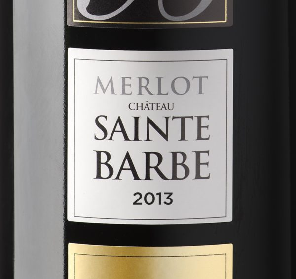 Merlot de Sainte Barbe - Millésime 2013