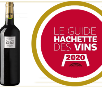 guide hachette des vins 2020 - chateau sainte barbe