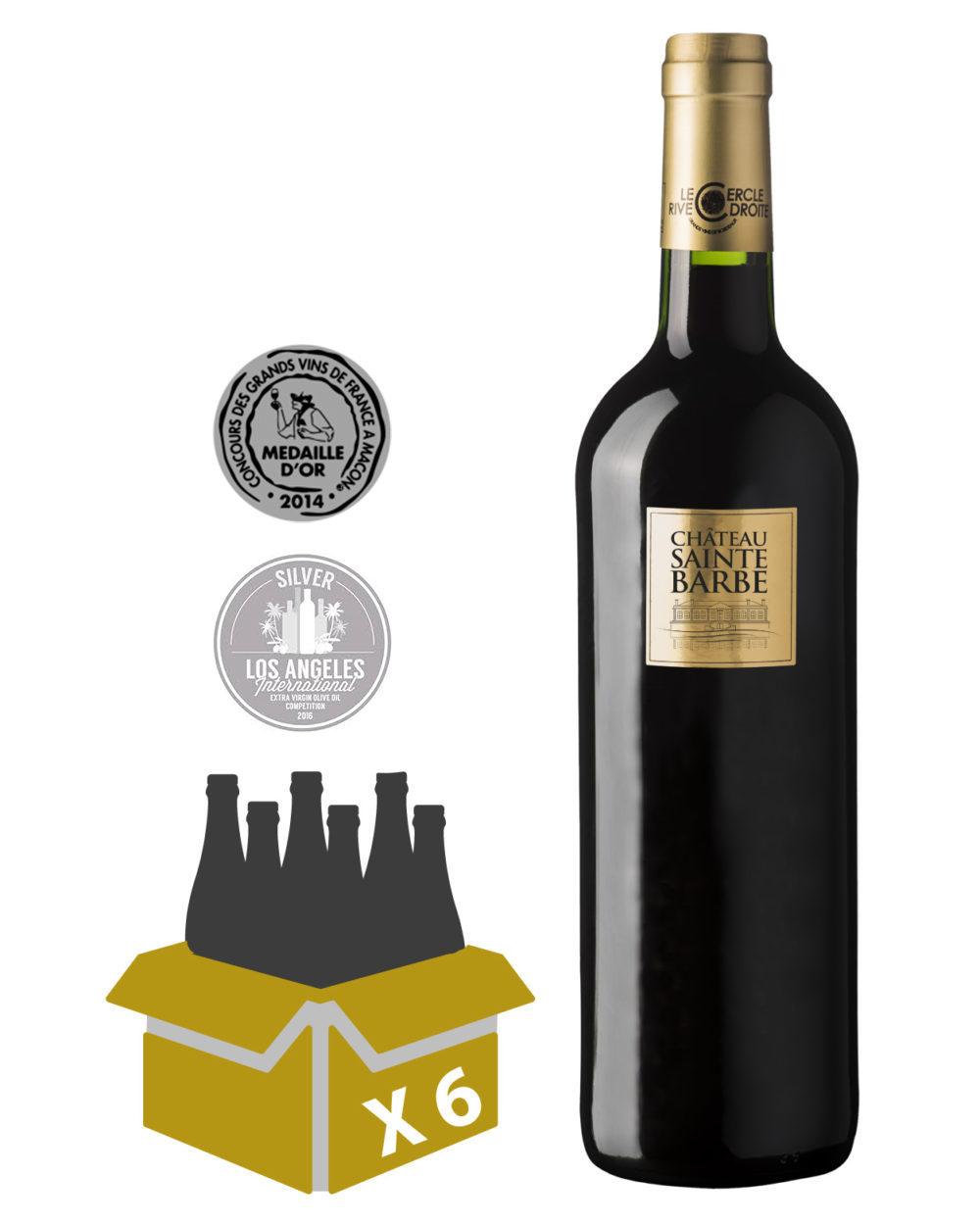 château sainte barbe 2016, achat vins de bordeaux