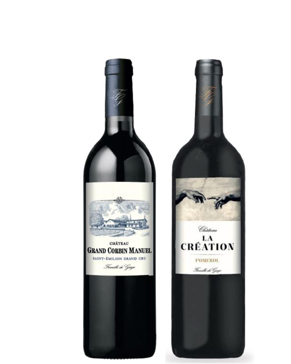 coffret cadeau vin sainte emilion pomerol
